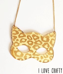 Cat Jewelry Be my Leopard Necklace