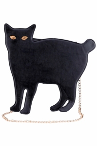 Cat-shaped Black Bag ROMWE