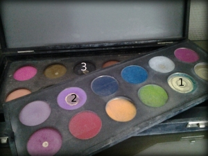 palette 24 fards Make Up For Ever