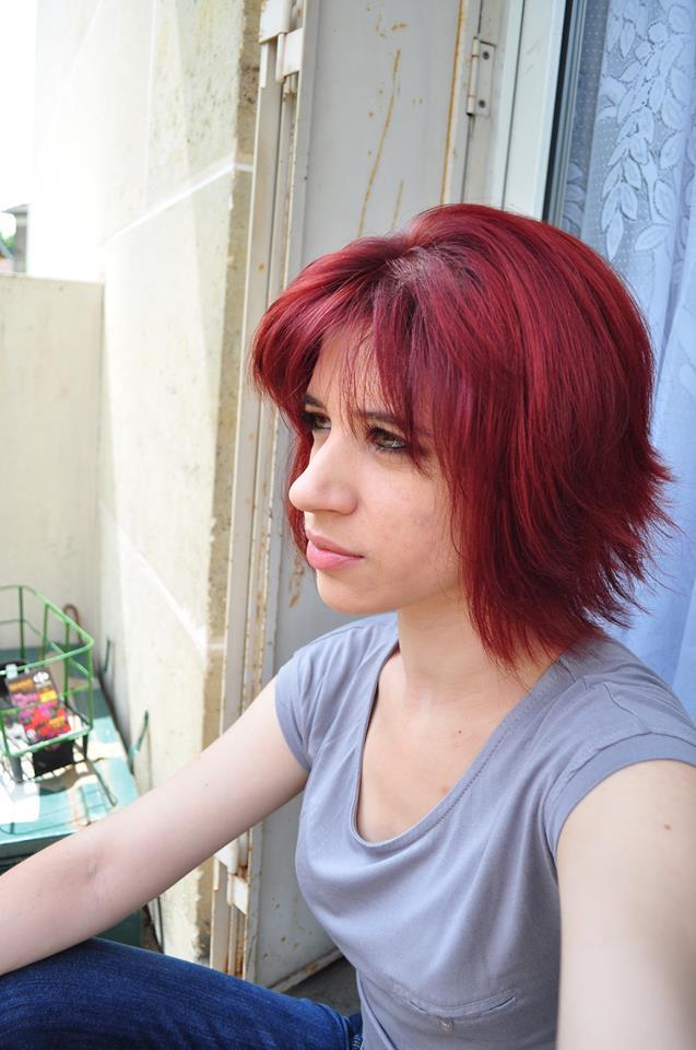 La routine «j'ai les cheveux rouges et je les garde».