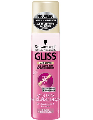 beaute cheveux soin shopping douceur gliss satin relax - Shampoing Schwarzkopf Cheveux Colors