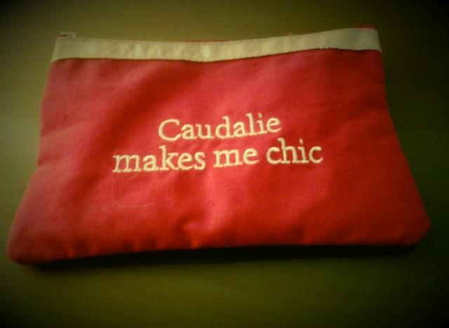 Caudalie makes me chic