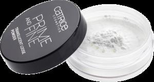 Poudre libres translucides Prime And Fine catrice