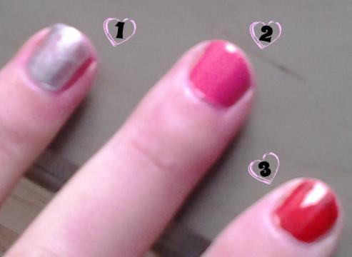 swatch nail rimmel