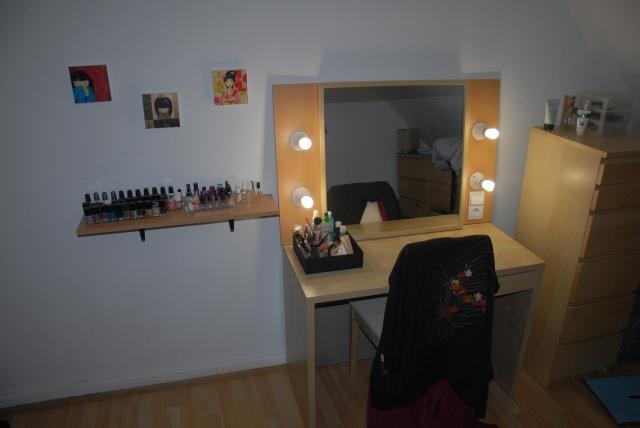 Station de maquillage