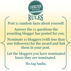liebster-award-rules